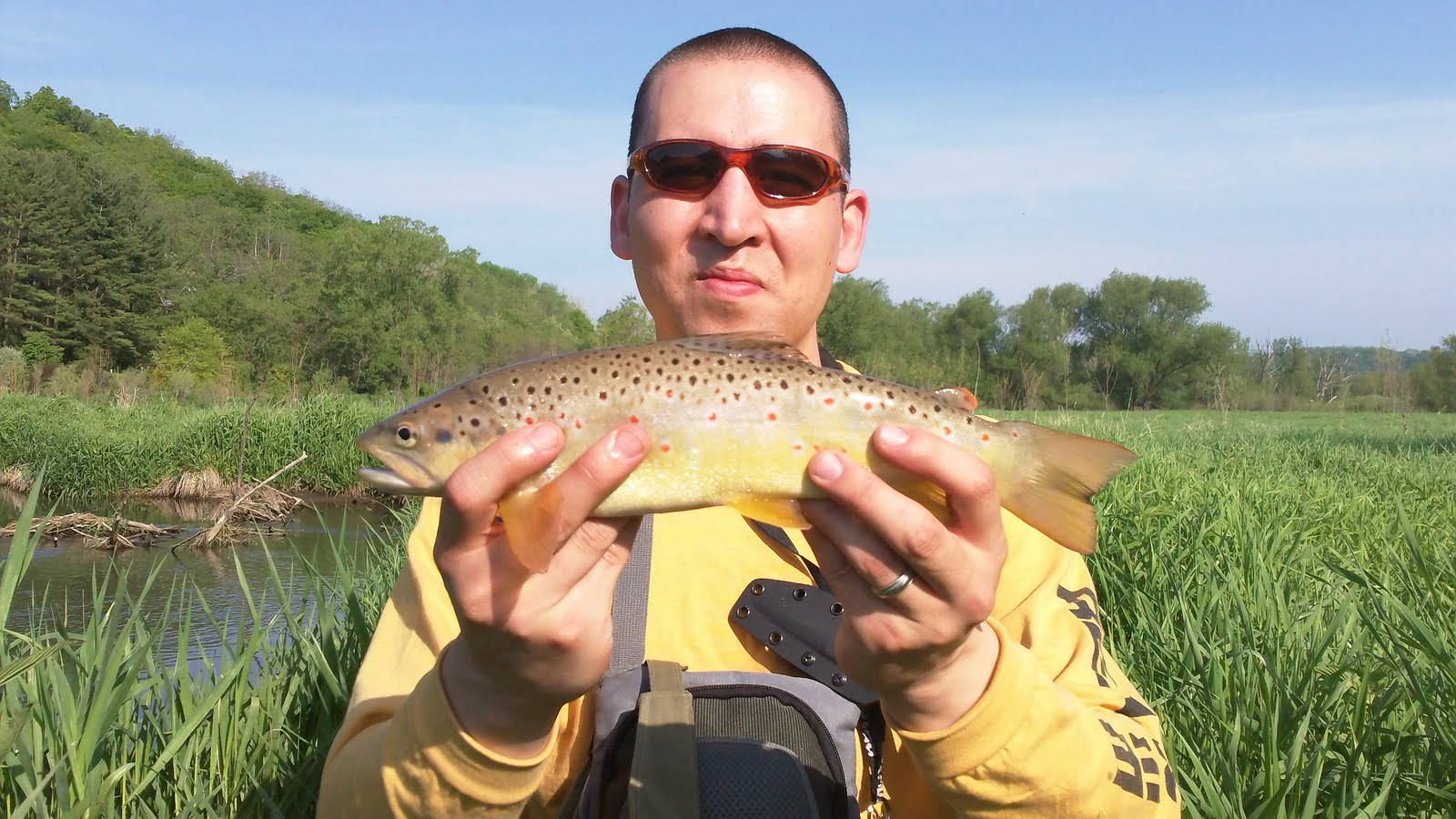 Illinois wisconsin fishing memorial day trout for Trout fishing illinois