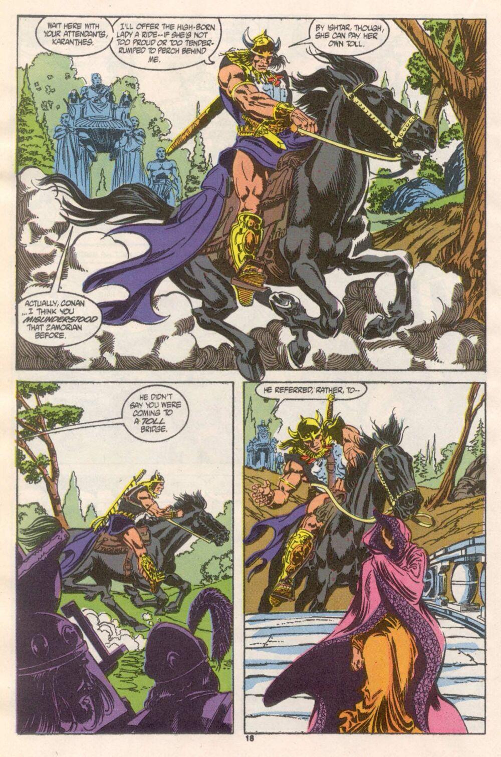 Conan the Barbarian (1970) Issue #241 #253 - English 15