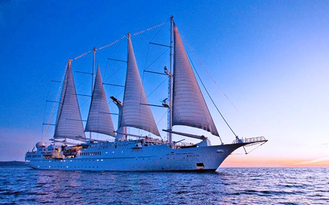 MSY Wind Song Sailing Ship Wallpaper 1