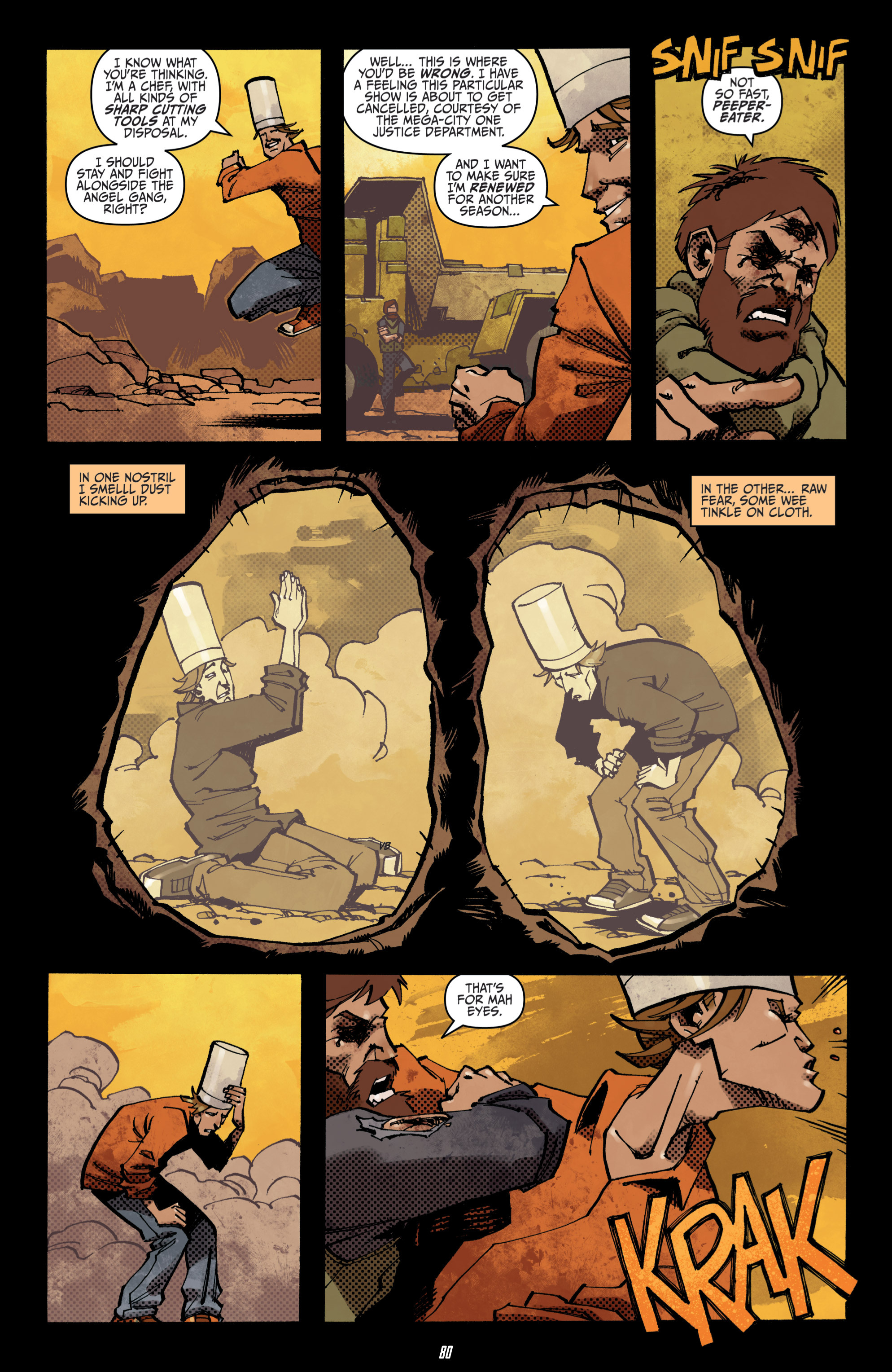 Read online Judge Dredd (2012) comic -  Issue # _TPB 3 - 80