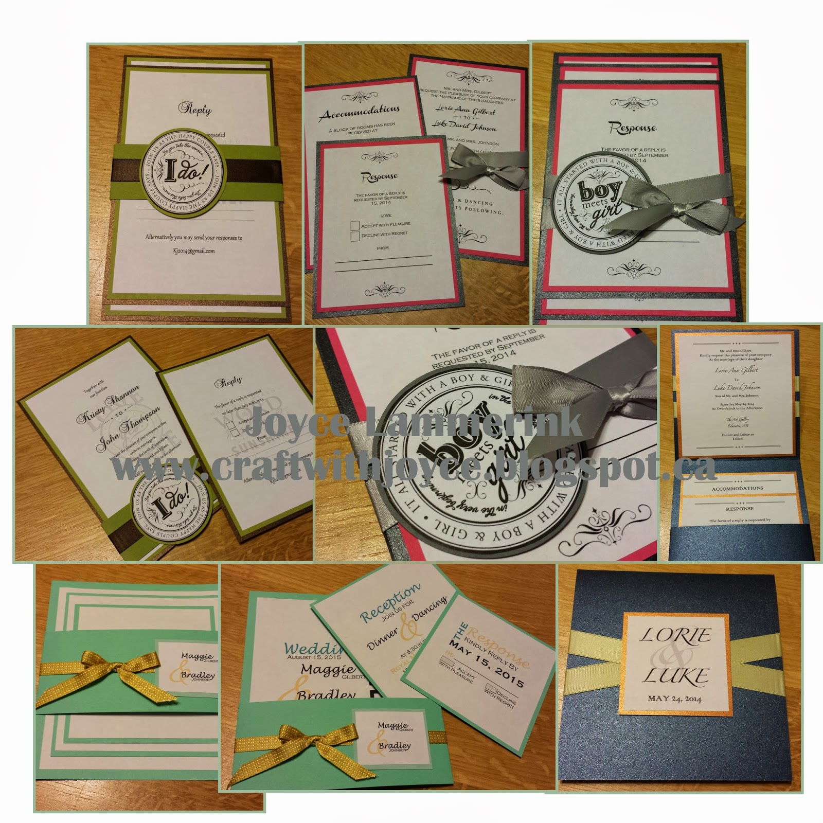 Wedding invitation kits edmonton