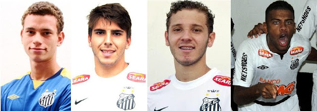 Guido, Bruno Lamas, Vitor Hugo e Paulo Henrique