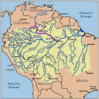 Rio Negro, connected to the largest Amazon Rainforest Reserve (Credit: en.wikipedia.org) Click to enlarge.