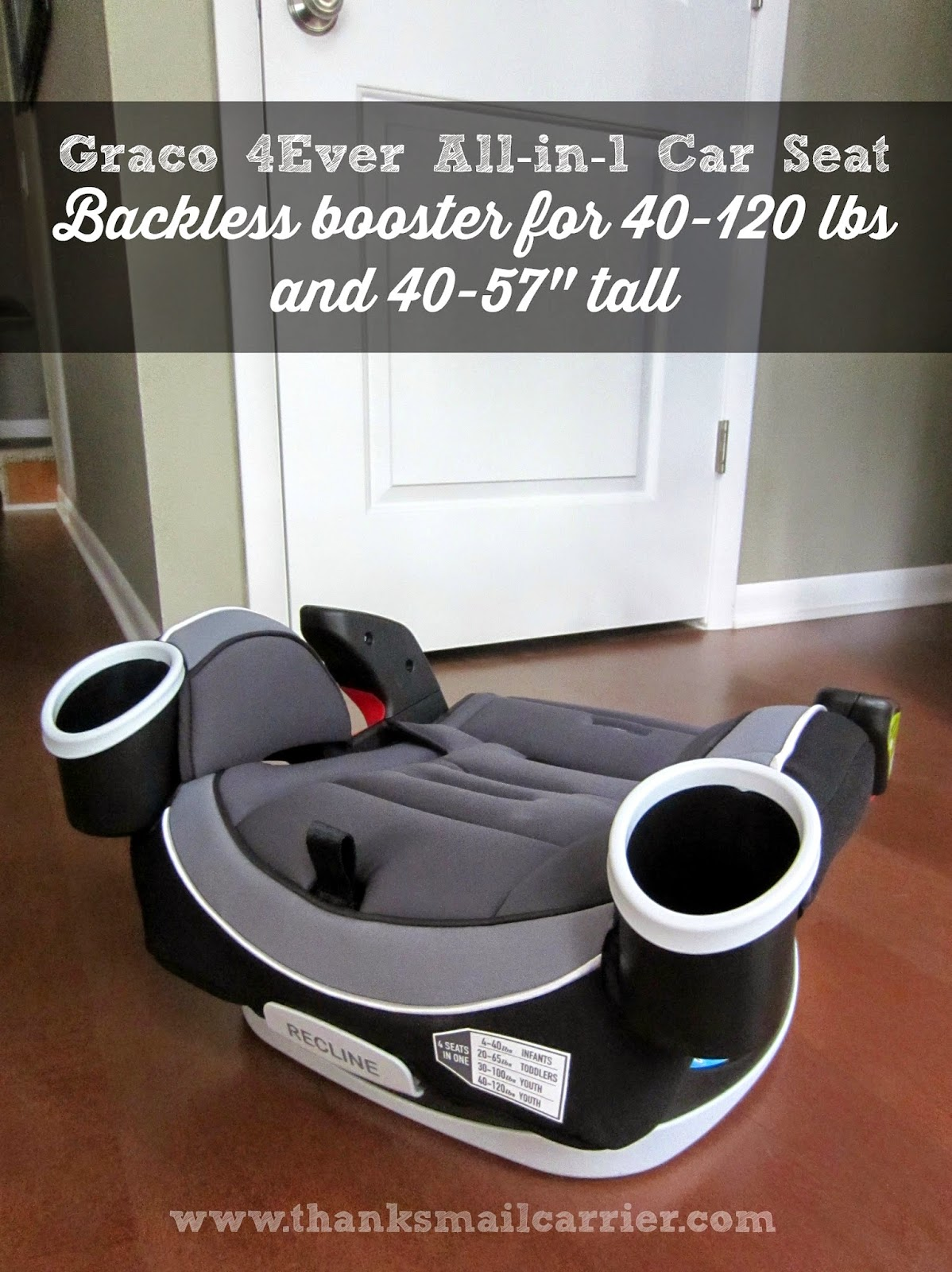 Graco 4Ever backless booster