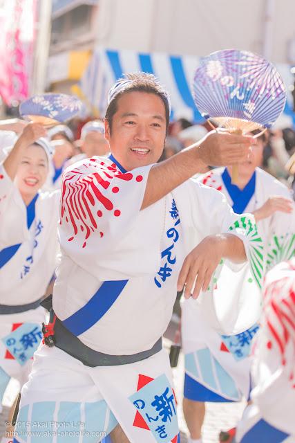 東京新のんき連 清瀬駅南口・秋のふれあい祭り 阿波踊り
