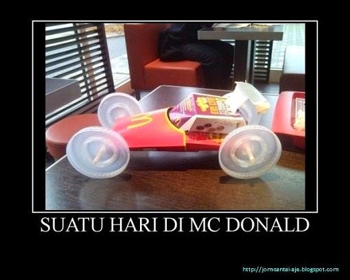 SUATU HARI DI MC DONALD