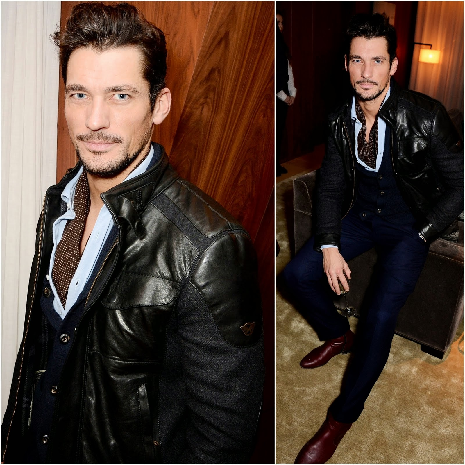 David Gandy in Matchless - GUESS / Priyanka Chopra dinner, London