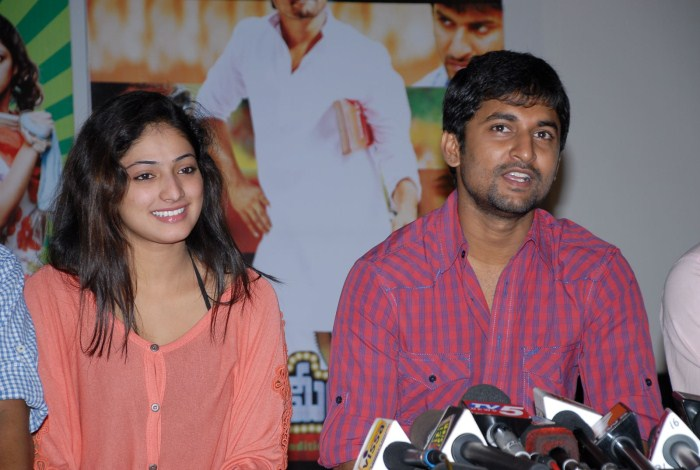 Pilla Zamindar Success Meet Stills release images