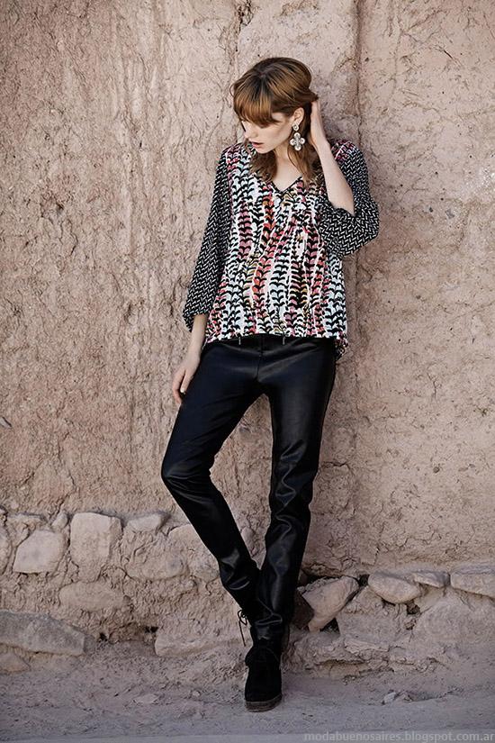 Moda otoño invierno 2015 India Style ropa de mujer.