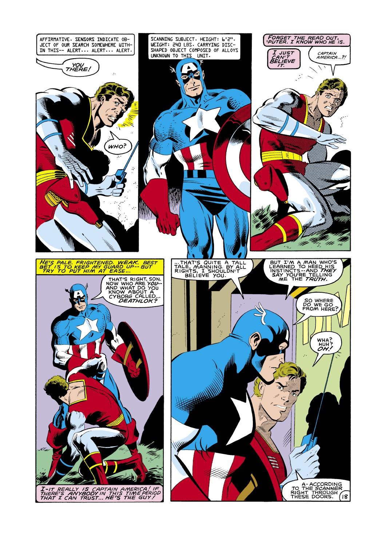 Captain America (1968) Issue #286 #202 - English 19