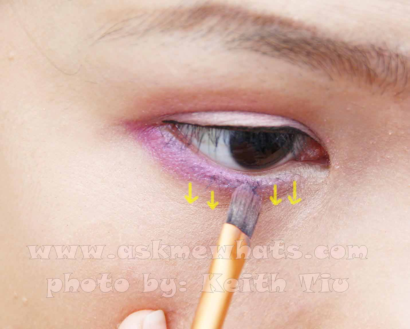 If You Were Really Good With Application And You Don't See Any Smudges,  Feel Free To Apply Your Favorite Eyeshadow Shade Underneath The Lashes To  Make The