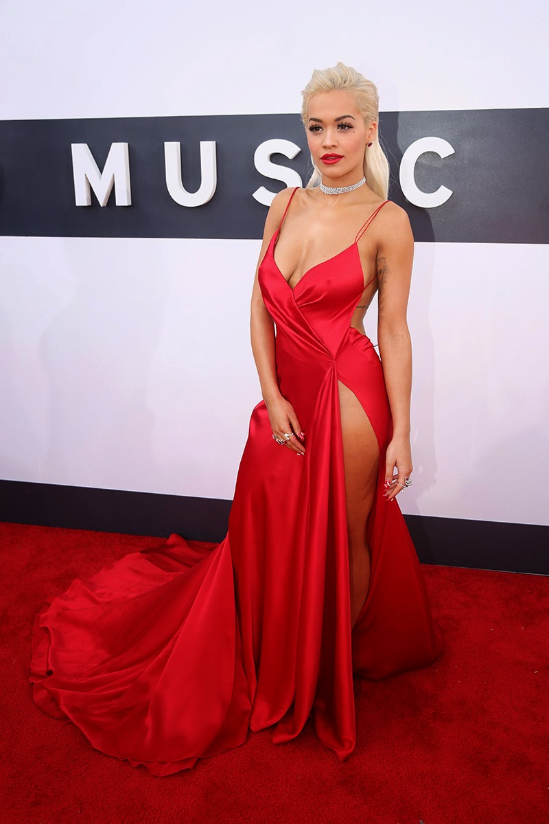 Rita Ora MTV MVA 2014