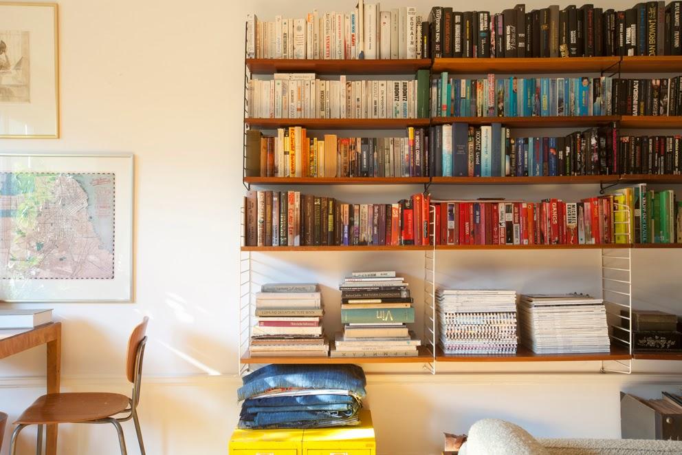 etagére string- Blog deco - maison suédoise