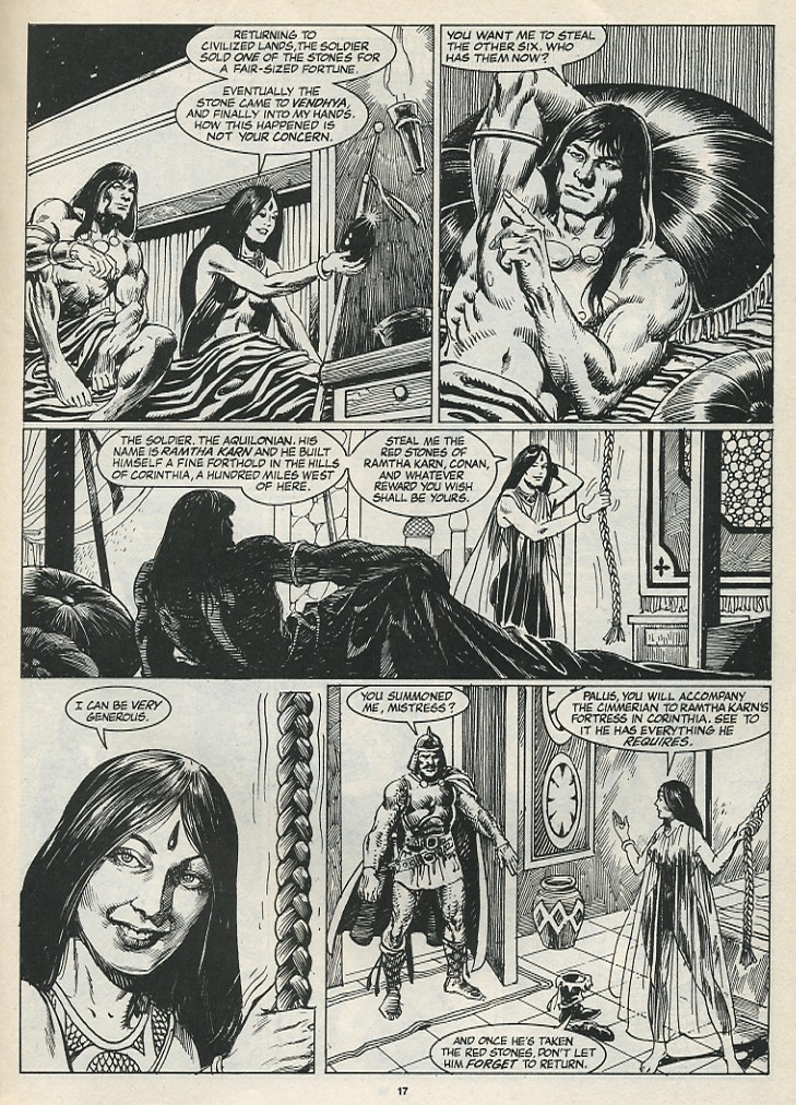 The Savage Sword Of Conan Issue #174 #175 - English 19