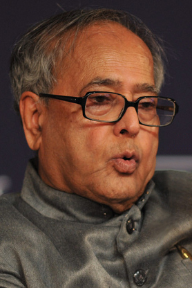 Pranab Mukherjee is the President of India