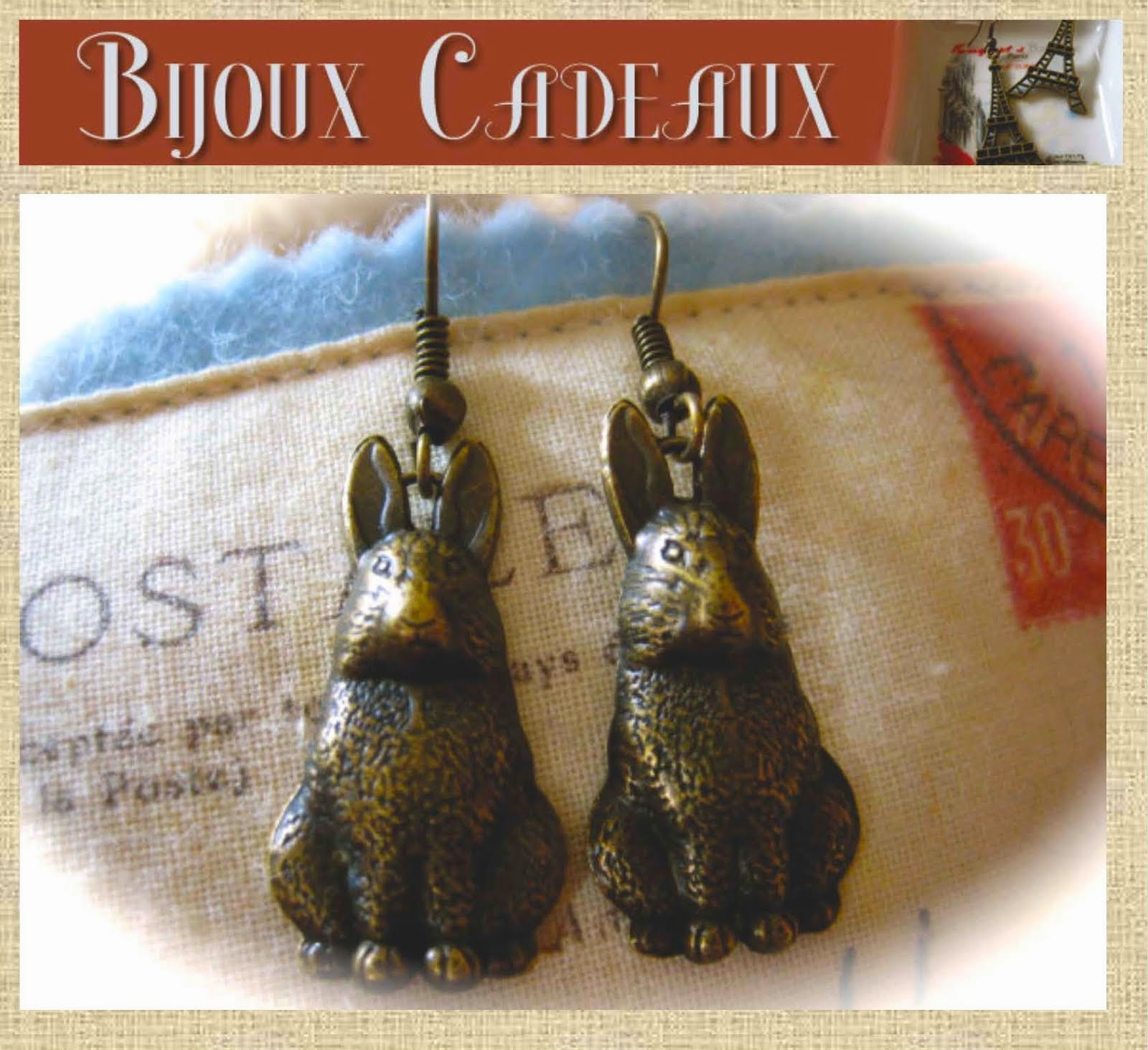 Perfect for Spring: Bunny Earrings