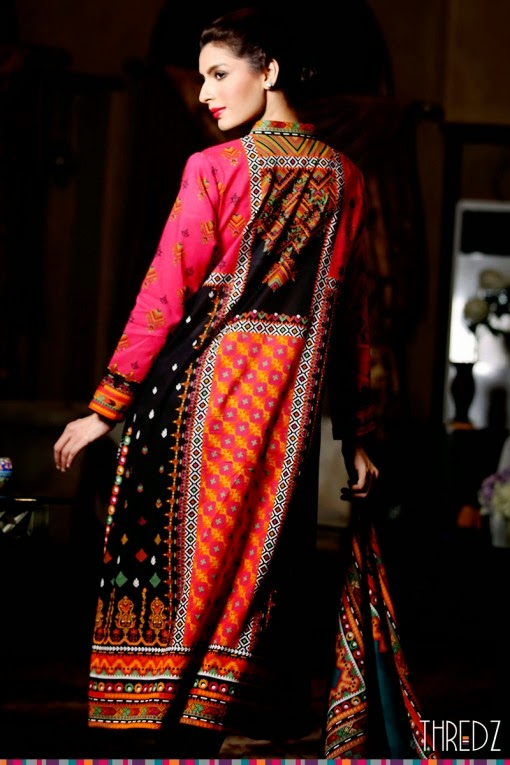 Thredz printed lawn collection 2015