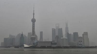 ALTOS NIVELES DE CONTAMINACION EN CHINA, 21 DE OCTUBRE 2013