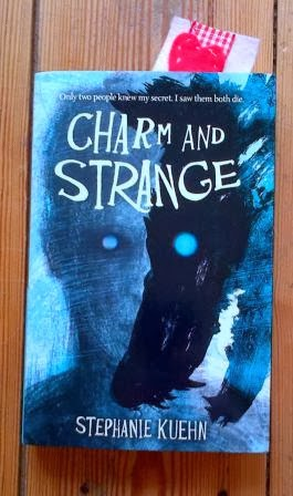 Charm and Strange by Stephanie Kuehn, Electric Monkey, UK hardback edition