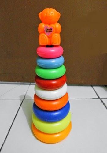 Mainan Ring Donat Susun