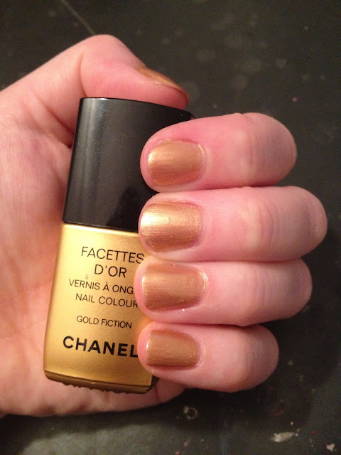 Chanel, Chanel Le Vernis Nail Colour, Chanel Gold Fiction, nails, nail polish, nail lacquer, nail varnish, manicure, #TBT, Throwback Thursday, #throwbackthursday