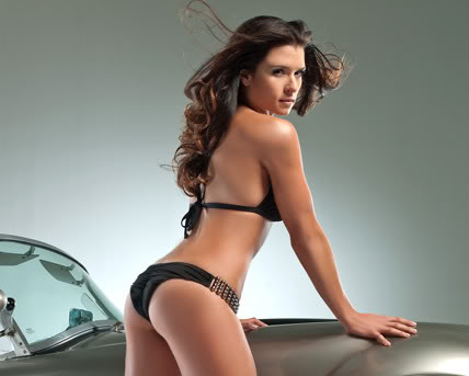 Megan Rossee Danica Patrick Hot 2012