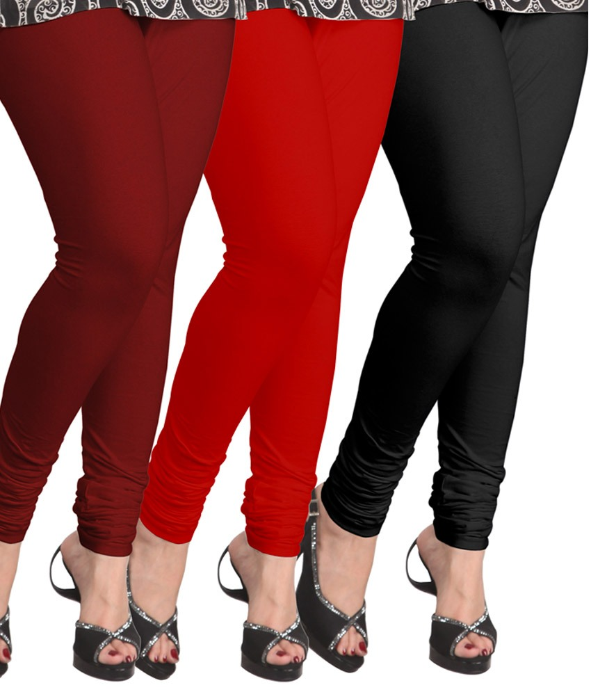 Cotton Lycra Lggings combo offer online price