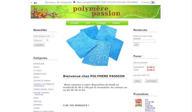 polymère passion site avis
