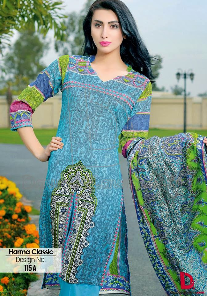 Formal summer lawn collection