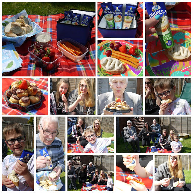 Primula, picnics, family