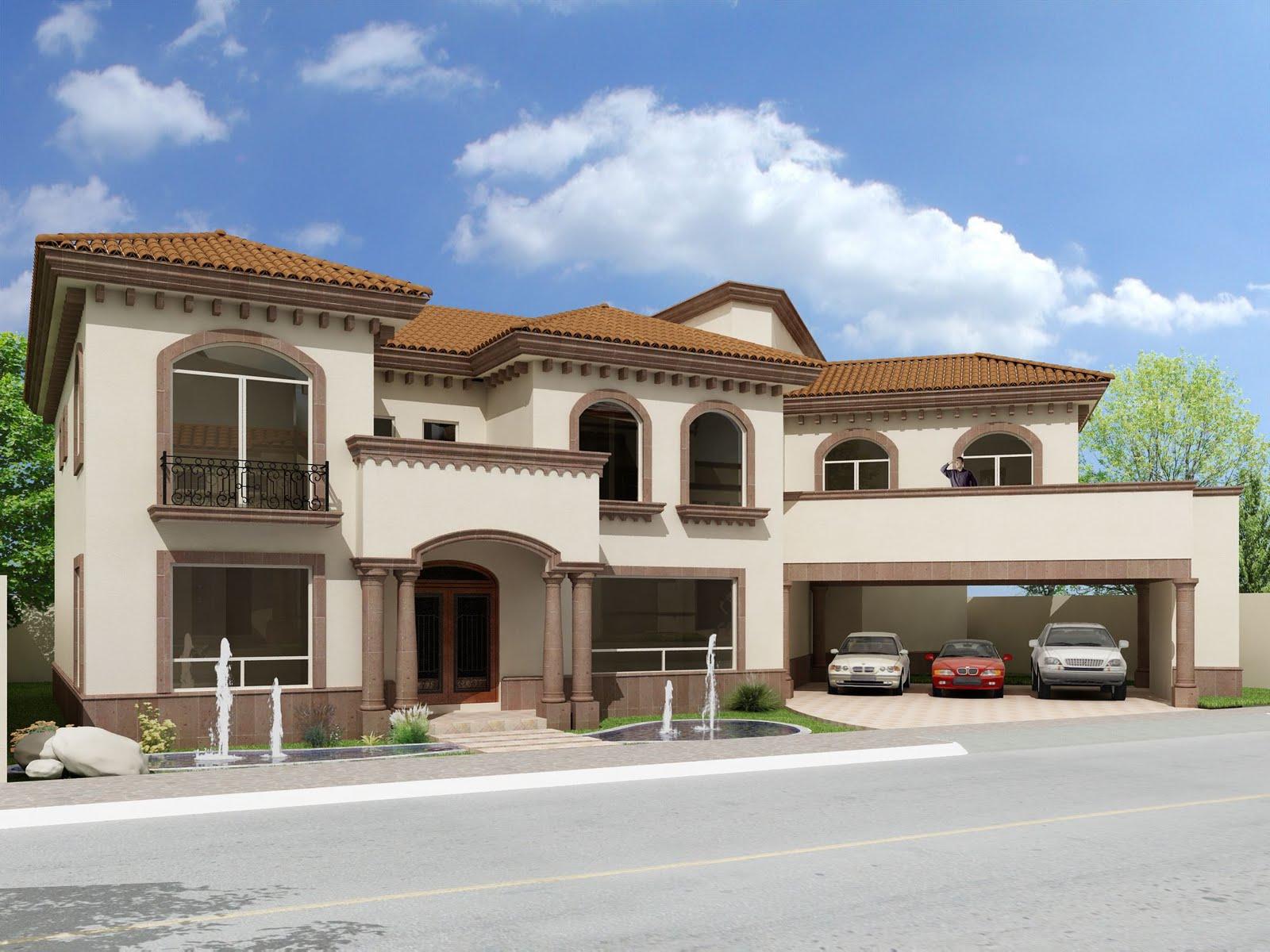 Fachadas de casas for Casas arquitectonicas modernas