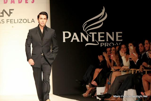 "Nicolas Felizola at the""Magic of Fashion"" at Funkshion Fashion Week Miami Beach."