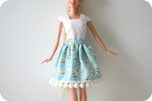 Юбка для куклы своими руками