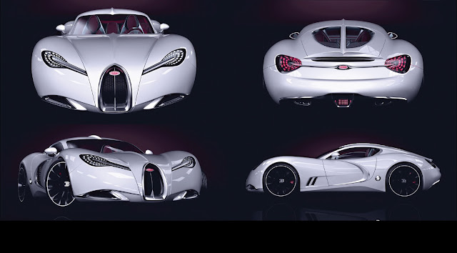 Bugatti Gangloff Concept: A Type 57 SC Atalante with a Twist of Veyron