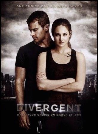 Póster de 'Divergente' (Neil Burger, 2014)