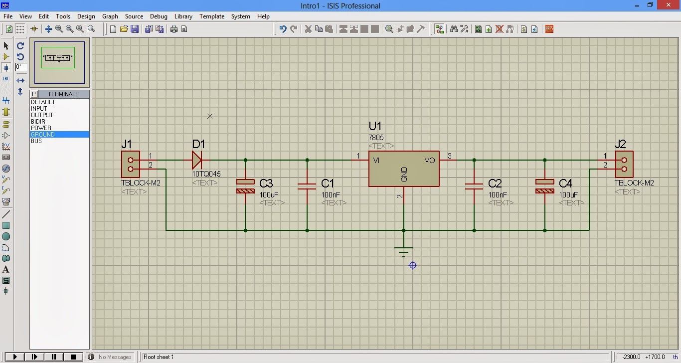 Simulation on proteus simulation and pcb by proteus now complete for all the circuits you should be able to wire it correctly as shown tips to do wiring easily press g to enable grid biocorpaavc