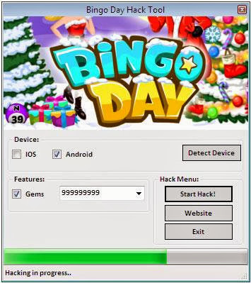 Bingo Day Hack
