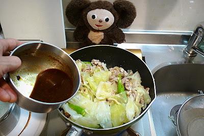 豚肉とキャベツみそ炒めの作り方(3)