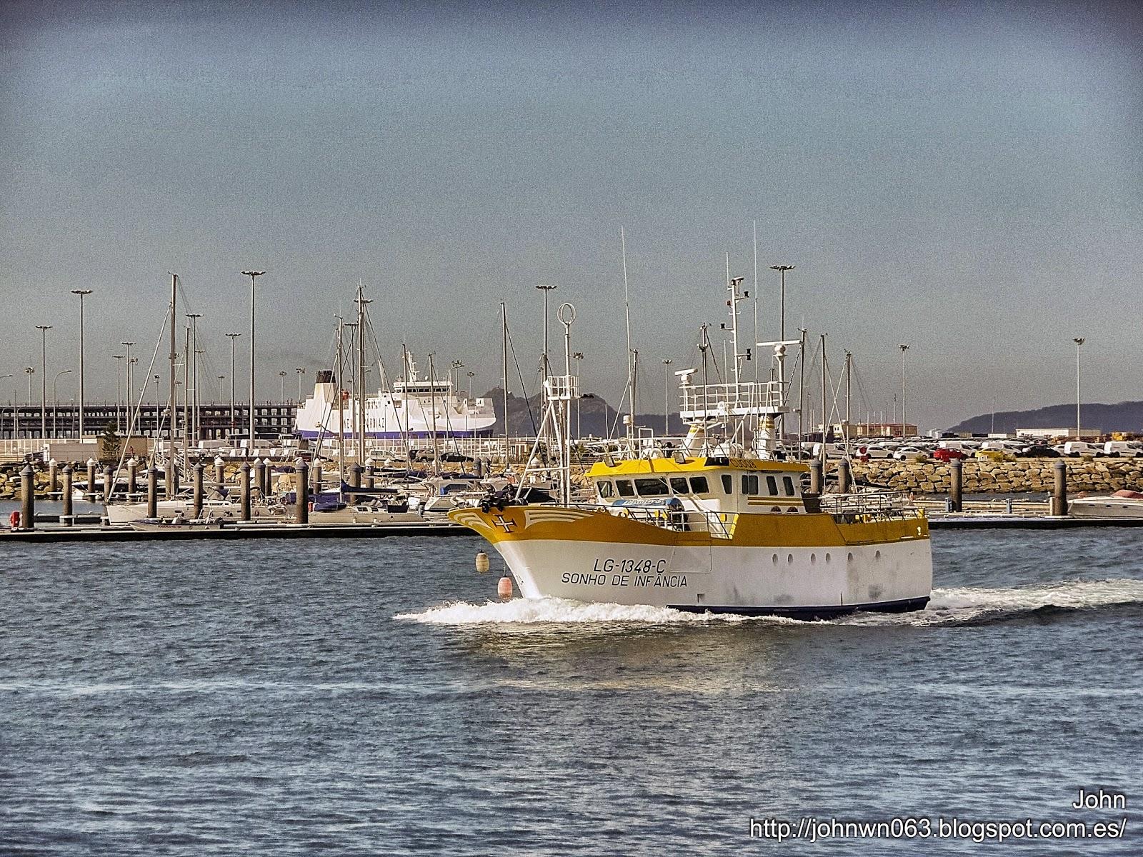 fotos de barcos, imagenes de barcos, sonho da infancia, pesquero, vigo
