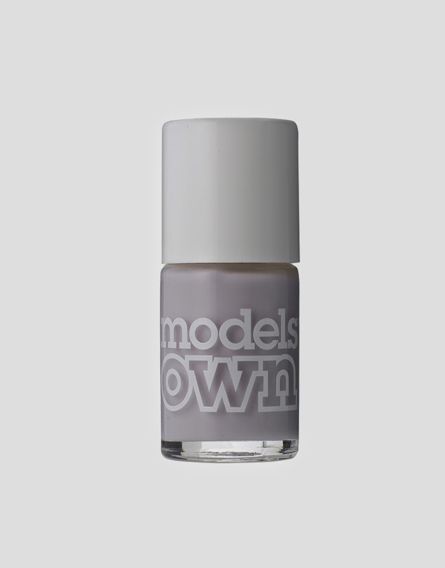 pale grey nail varnish