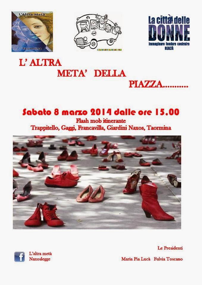 L'ALTRA META' DELLA PIAZZA: FLASH MOB ITINERANTE IN SICILIA