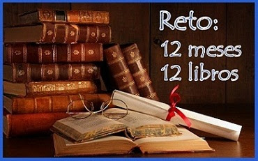 Reto 12 meses 12 libros