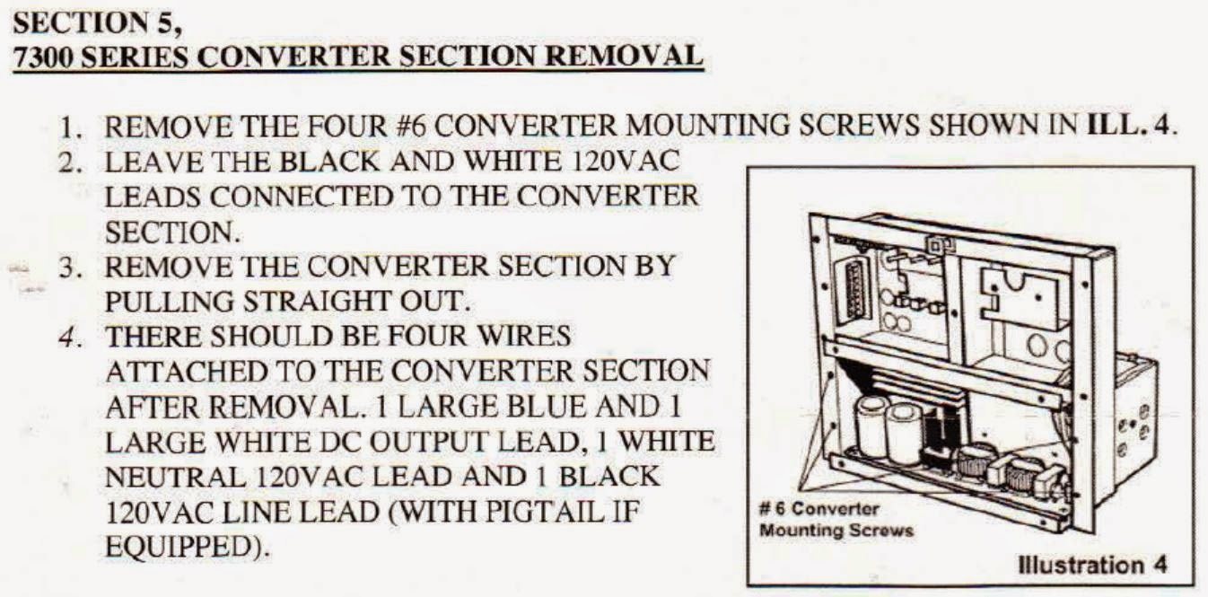 Parallax 7300 Wiring Diagram 28 Images Magnetek Power Converter 7345ru Excerpt The Interstate Blog Replacing Electrical In An At Highcare