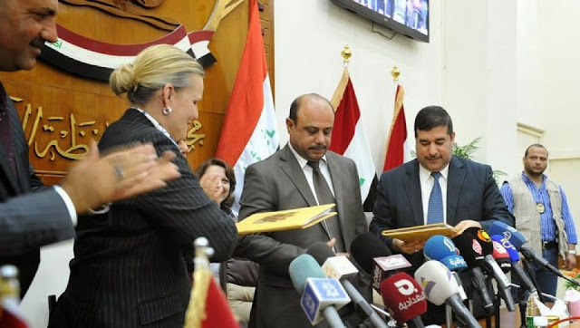 Basra Compact signing