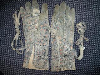 Guantes de cuero. Japón. Los samurais los llevaban bajo la armadura (XVII-XVIII). Lacasamundo.com