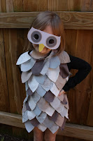 Child's Owl Costume