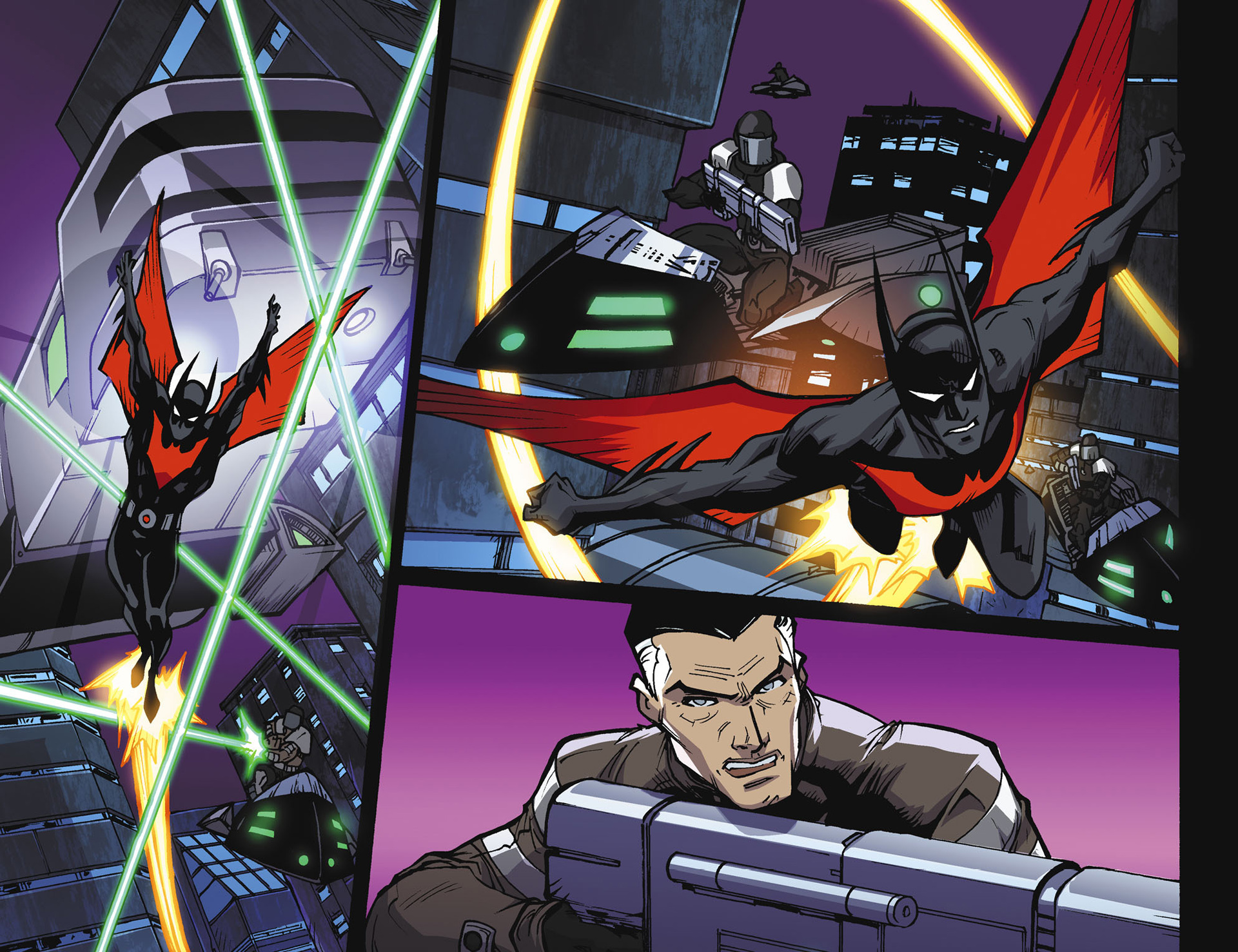 Batman Beyond 2.0 #18 #23 - English 9