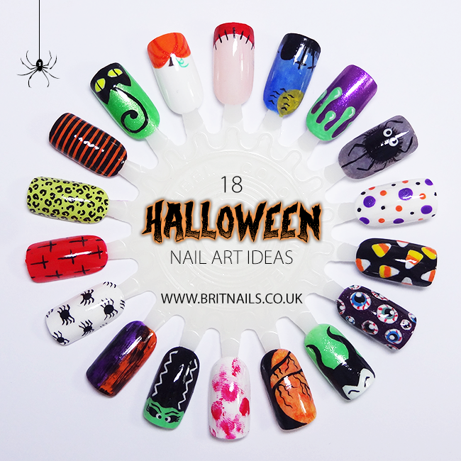 Easy Halloween Nail Art - 18 Halloween Nail Art Ideas Brit Nails