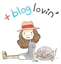 Sígueme con bloglovin' :D