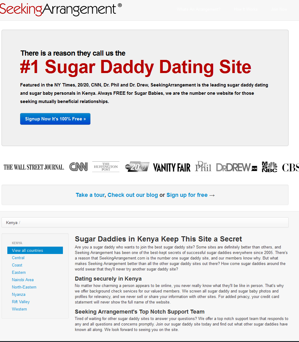 Online dating web